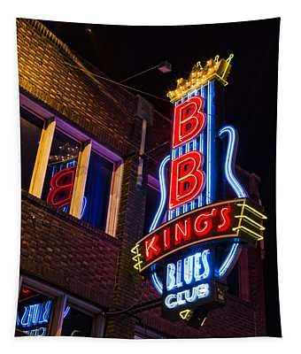 B B Kings On Beale Street Tapestry
