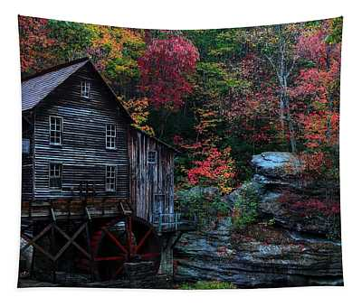 Babcock State Park Glades Creek Grist Mill West Virginia  Tapestry