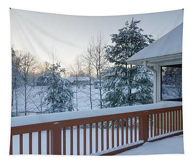 Winter Deck Tapestry