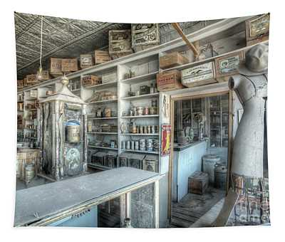 Back In 5 - The General Store, Bodie Ghost Town Tapestry