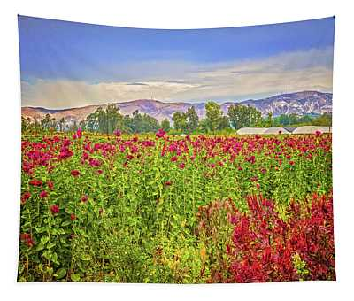 Backroad Beauty In Southern California Tapestry