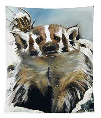 Badger - Guardian Of The South Tapestry