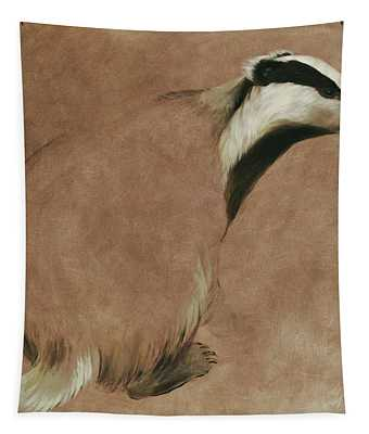 Badger Tapestry