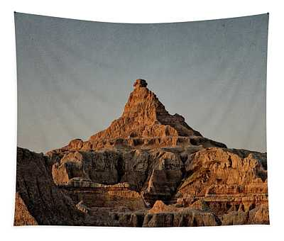 Badlands At Sunrise Tapestry