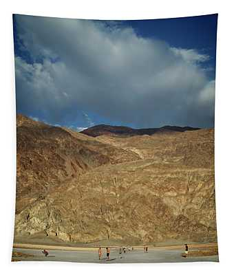 Badwater Hike Tapestry