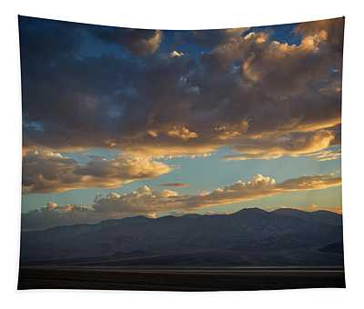 Badwater Road Sunset Tapestry