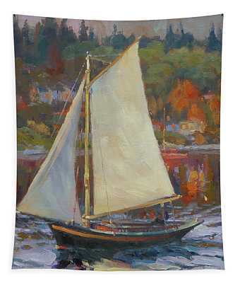 Bainbridge Island Sail Tapestry