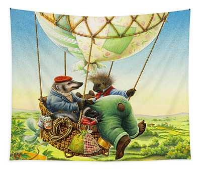 Ballon Ride Tapestry