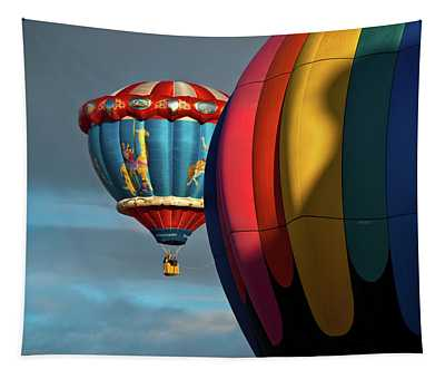 Balloons In Flights Tapestry