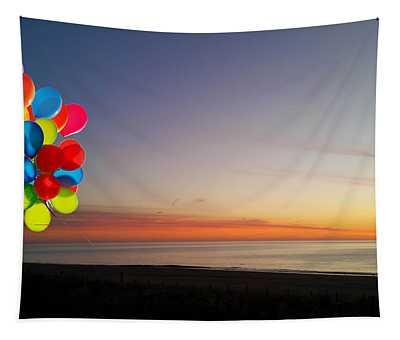 Balloons Over Oc Tapestry