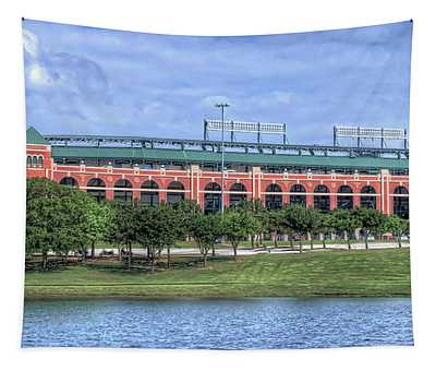 Ballpark In Arlington Now Globe Life Park Tapestry