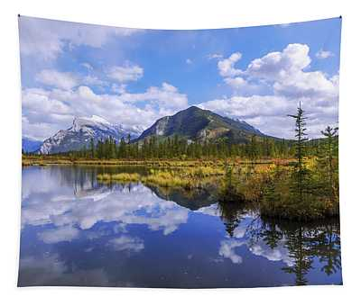 Banff Reflection Tapestry