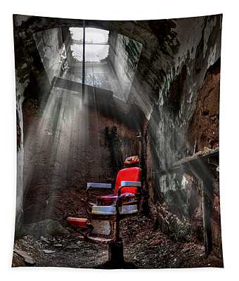 Penitentiary Photographs Wall Tapestries