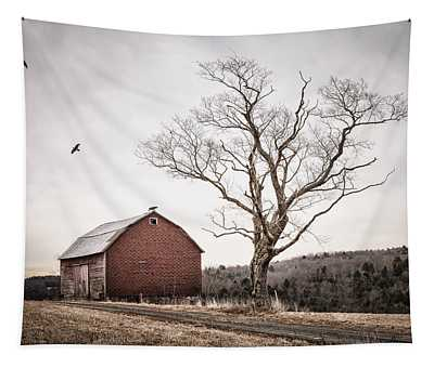 barn and tree - New York State Tapestry