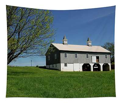 Barn In The Country - Bayonet Farm Tapestry