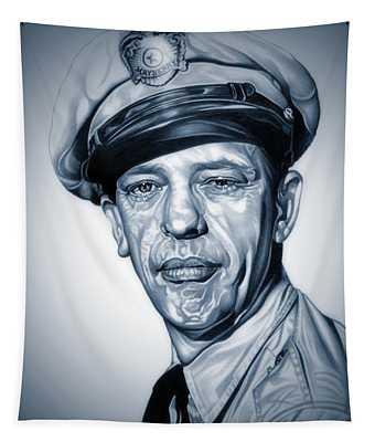 Barney Fife Tapestry