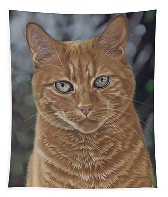Barry The Cat Tapestry