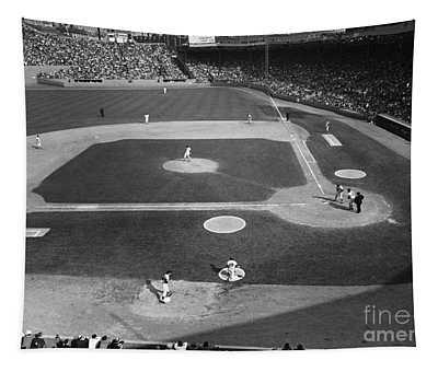 Baseball Game, 1967 Tapestry