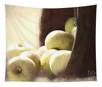 Basket Of Apples Tapestry