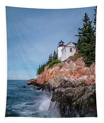 Bass Harbor Head Lighthouse Tapestry