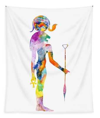 Bastet- God Of Ancient Egypt Tapestry