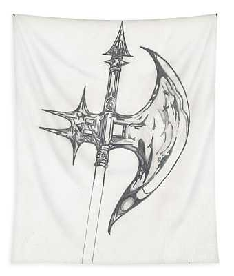 Battle Axe Tapestry