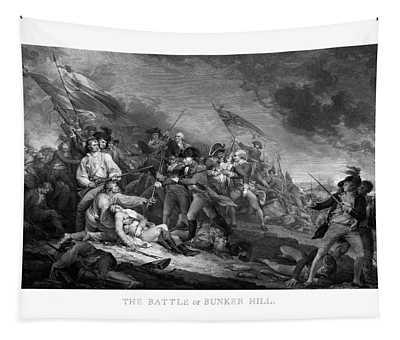 Battle Of Bunker Hill Tapestry