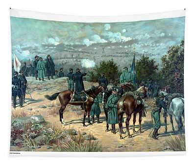 Battle Of Chattanooga Tapestry