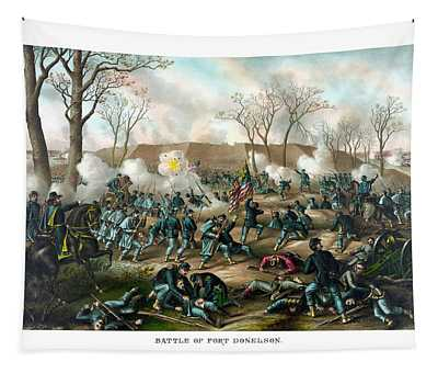 Battle Of Fort Donelson Tapestry