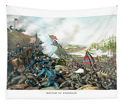 Battle Of Franklin - Civil War Tapestry