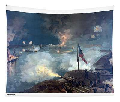 Battle Of Port Hudson Tapestry