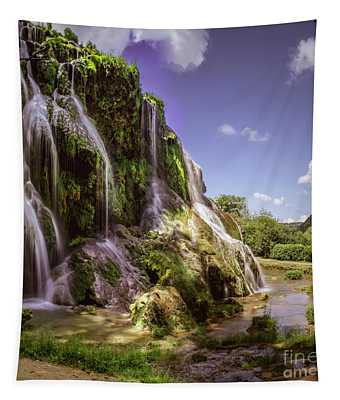 Baume Les Messieurs, France. Tapestry
