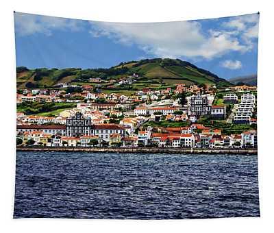 Bay Of Horta Tapestry