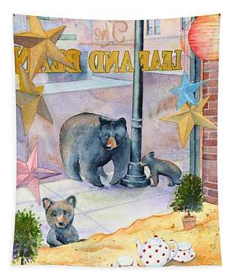 Bean Bears Tapestry