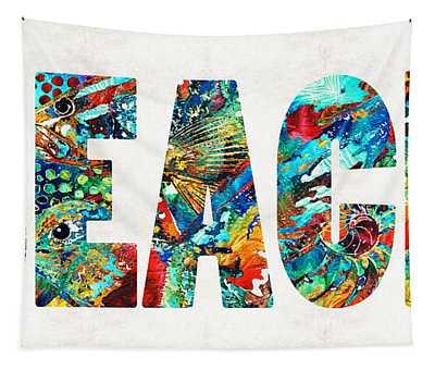 Beach Art - Beachy Keen - By Sharon Cummings Tapestry