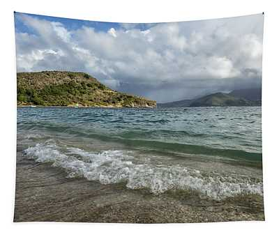 Beach At St. Kitts Tapestry