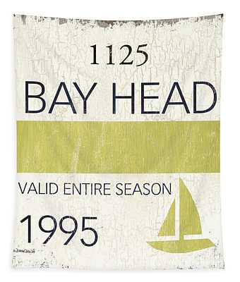 Beach Badge Bay Head Tapestry
