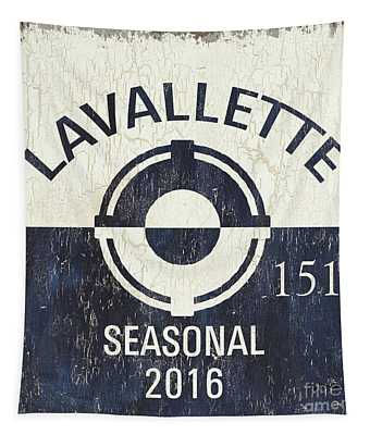 Beach Badge Lavalette Tapestry