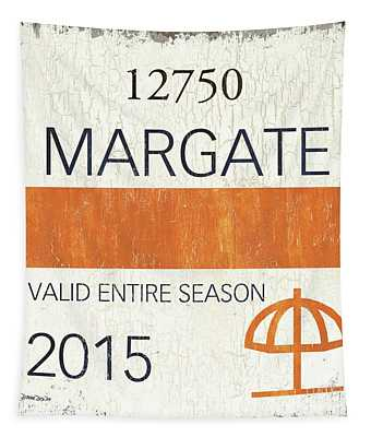 Beach Badge Margate Tapestry