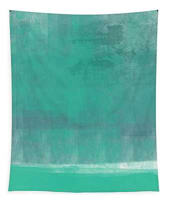 Beach Glass- Abstract Art Tapestry