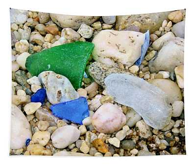 Beach Glass Tapestry
