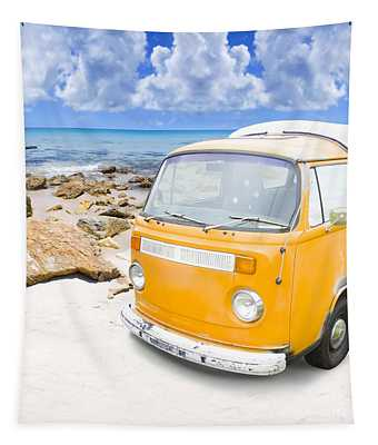 Beach Holiday Tapestry