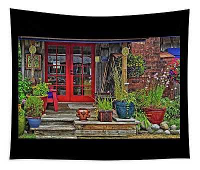 Beach House Flora Tapestry