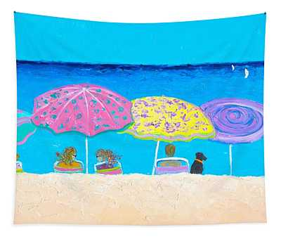 Beach Sands Perfect Tans Tapestry