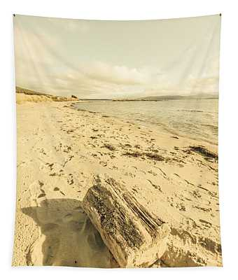 Beached Log Tapestry