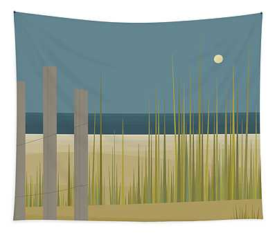 Beaches - Fence Tapestry