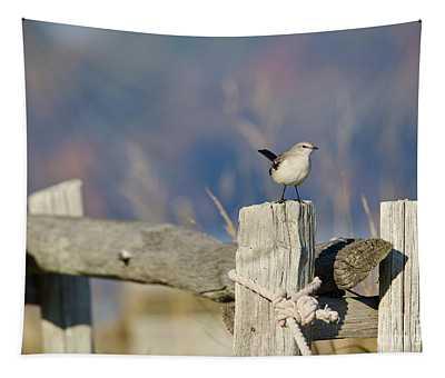 Beachside Mockingbird  Tapestry