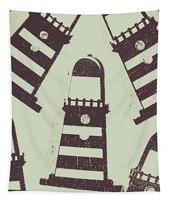 Beacon Buttons Tapestry