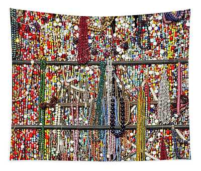 Beads In A Window Tapestry