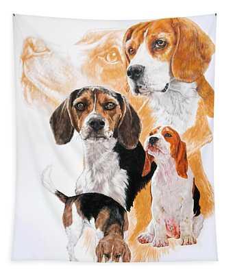 Beagle Hound Medley Tapestry